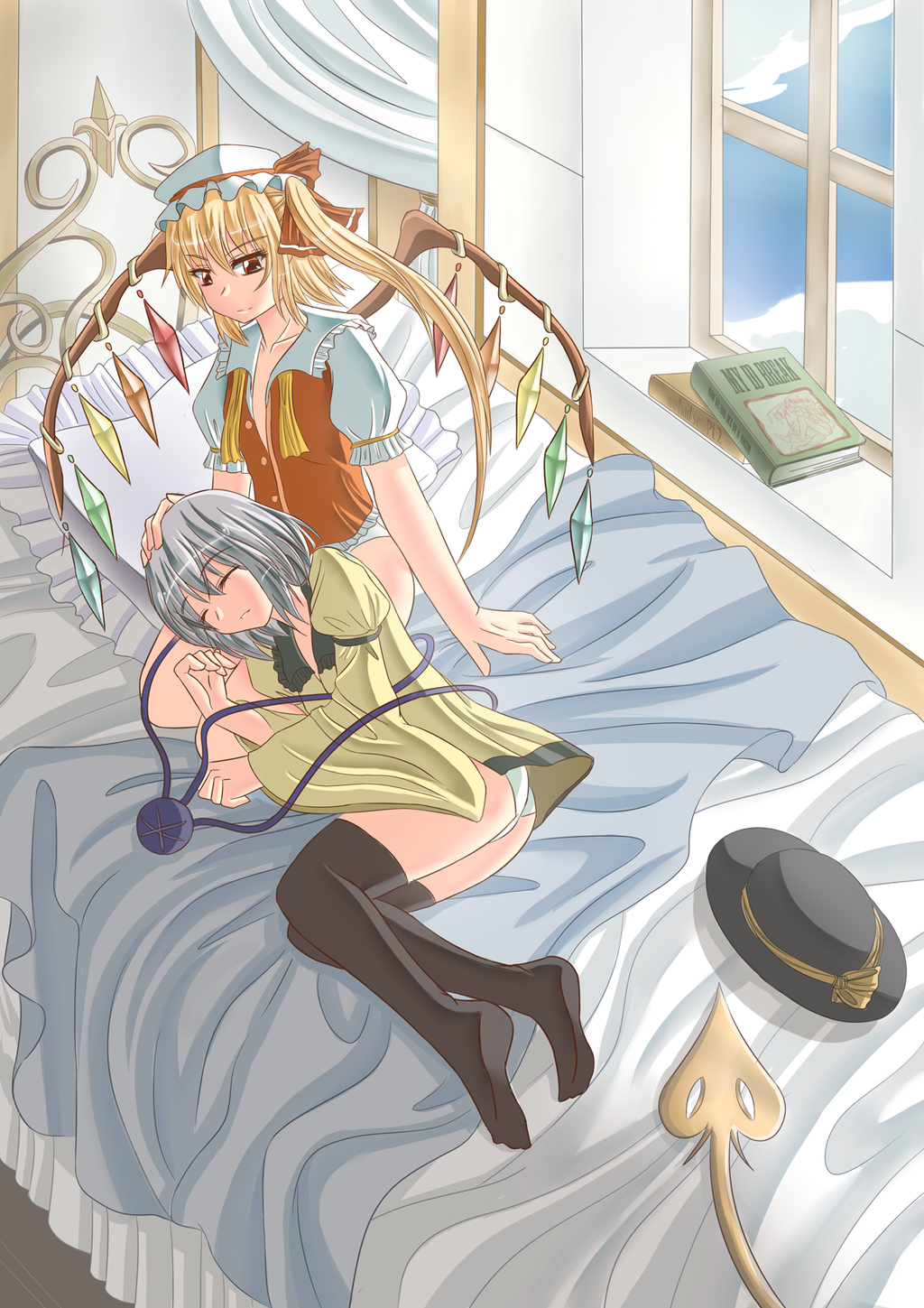 Touhou-together in the morning- by K-Nashi