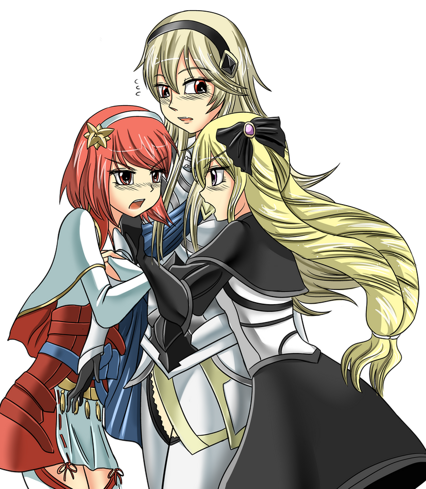 Fire Emblem -Sisters trouble- by K-Nashi