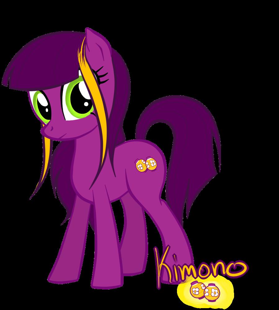 Kimono :request:  (Pony Revival) by RussianKolz