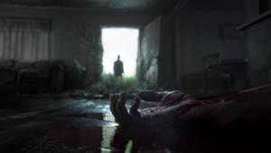 The Last Of Us 2 - Bloody Hand w/ Joel by Dabadalia