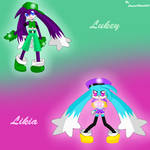 -Klonoa OCs- Lukey and Likia