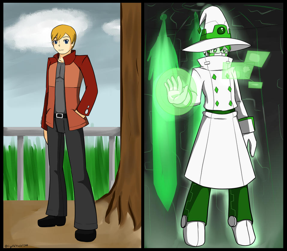Wizard The Human AI by CrystalViolet500