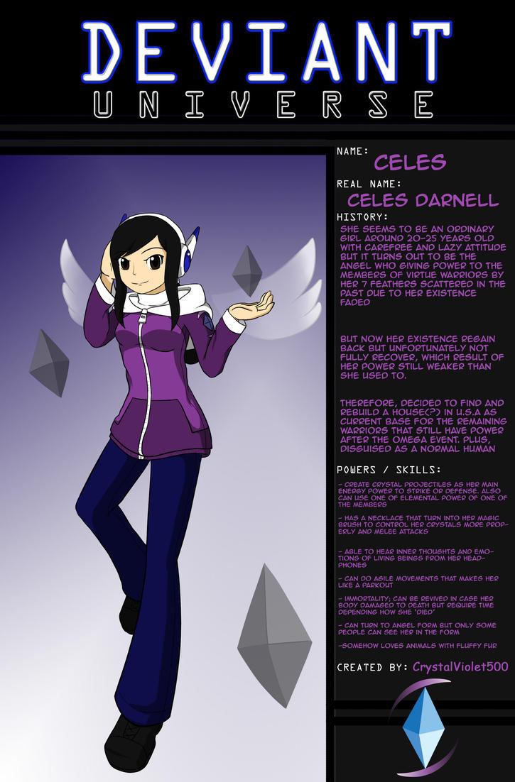Deviant Universe - Celes by CrystalViolet500