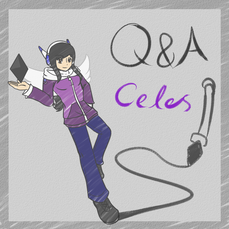 Q and A Character: Celes by CrystalViolet500