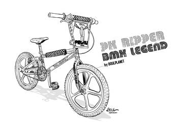PK RIPPER bmx legend by BOUL