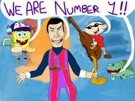 Robbie Rotten Number One by TunesLooney