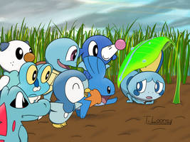 New Starter of a Family (Water) by TunesLooney