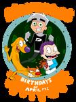 Nicktoons Birthdays of April - Part One
