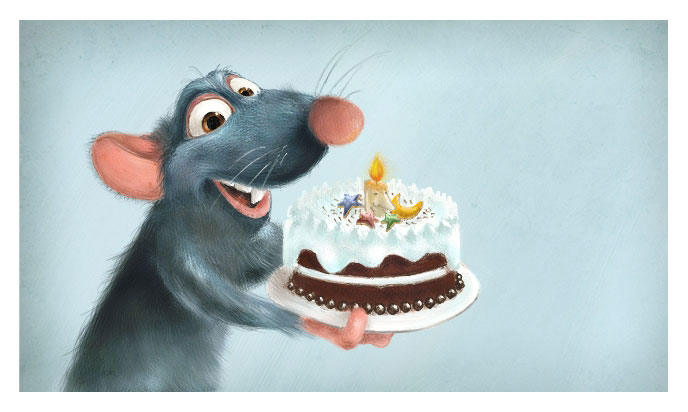 Rats Birthday Cake