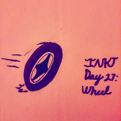 INKTtober Day 27: Wheel