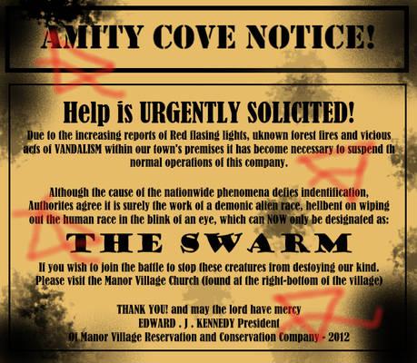 THE SWARM - Notice Board 2012