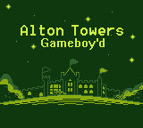 AltonTowers Gameboy'd - Night at the Towers - 2019