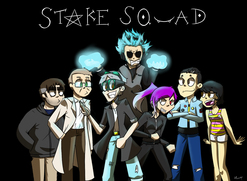 Stake Squad thing by DipperPinesRules