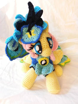 Fluttershy Grand Galloping Gala 2015 Gown