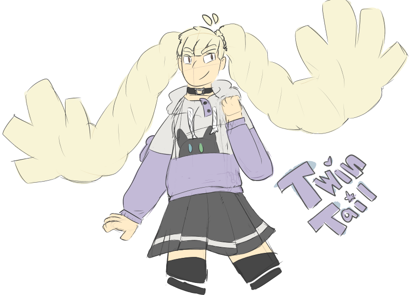 Twinttail by mollylollie7