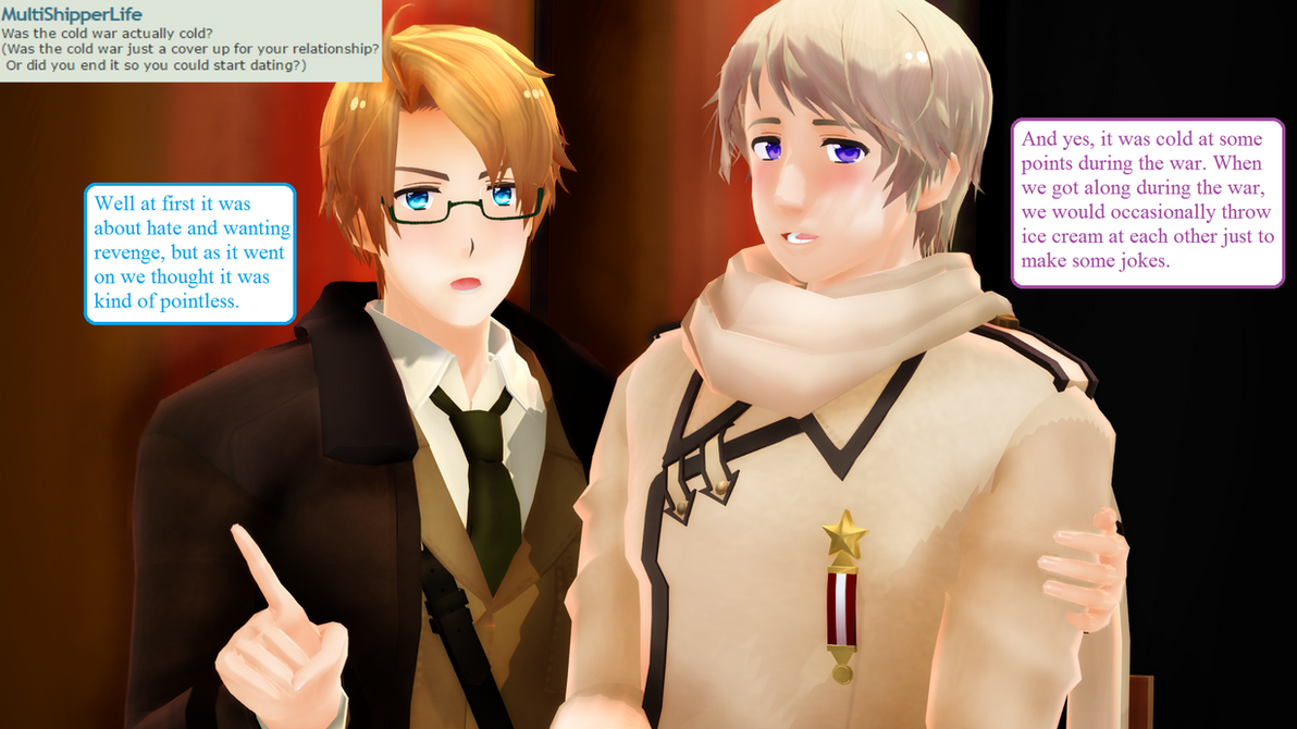 Ask RusAme Question 16: Cold War by MMD-AskRusAme
