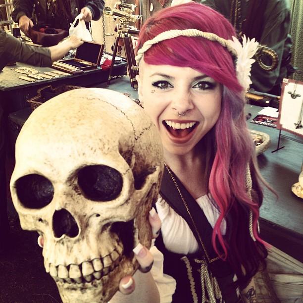 Skull by LittleLeanneMarie