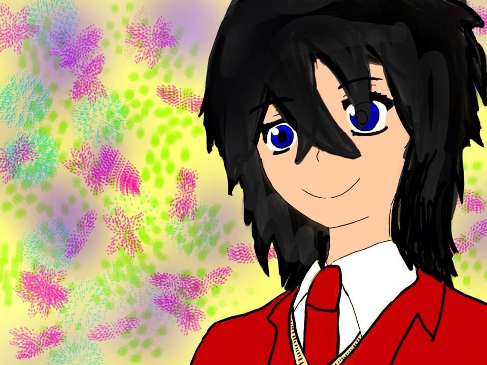 anime guy by Wolfrain98