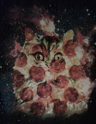 Pizza Cat Shirt by Kitten-Poop
