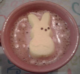 Easter Hot Chocolate by Kitten-Poop