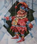 Punch. Cubo-futurism. Krotkov Vassily. 2013