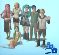 My Vocaloid Family by Ley-san