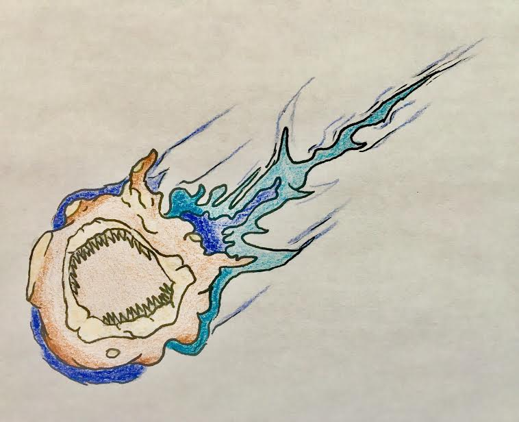 Megalodon Meteor by VaughnVicious