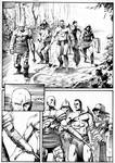 Ninja vs Gladiators Page 1