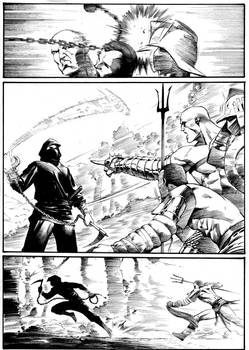 Ninja vs Gladiators Page 2