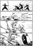 Ninjas vs Gladiators Page 6