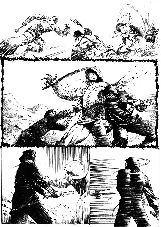 Ninjas vs Gladiators Page 8 by anghorkheng on DeviantArt