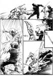 Ninjas vs Gladiators Page 9