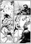 Ninjas vs Gladiators Page 10