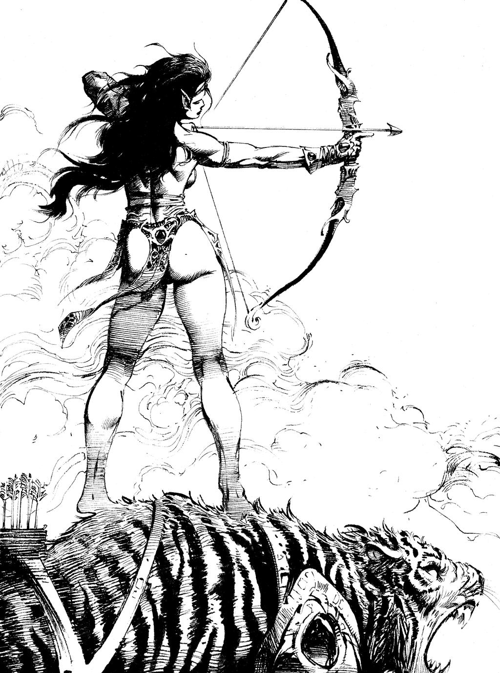 Mirana Sketch by anghorkheng