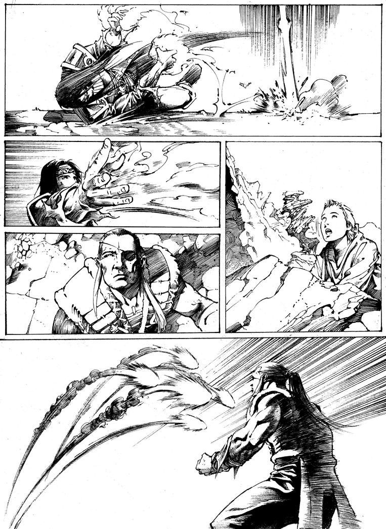 Caster vs Pairu Pg 2 by anghorkheng