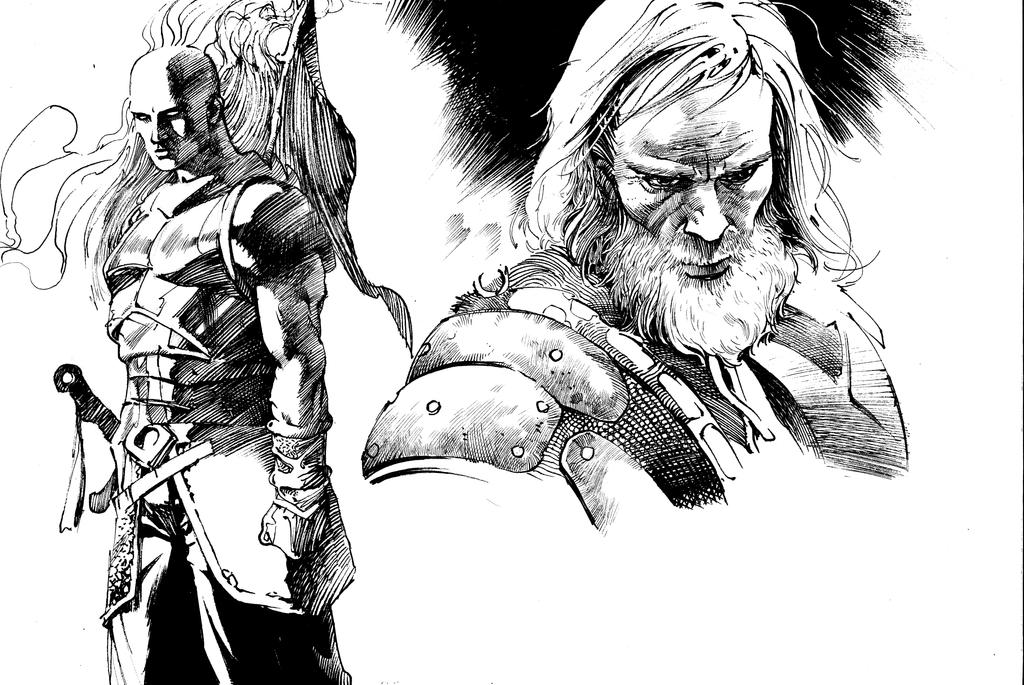 Fantasy Warriors by anghorkheng