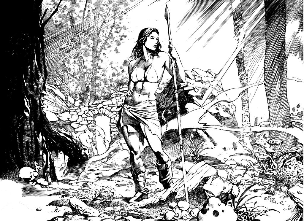 Amazon Girl 01 by anghorkheng