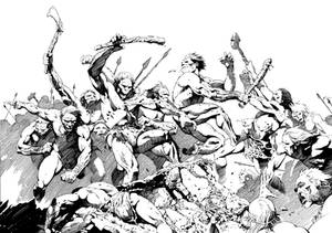Neanderthals vs Primitive Humans