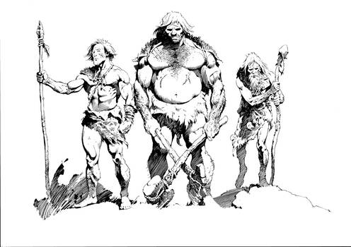 HUNT Neanderthal Concept Inked 2