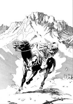 Negotiator Falling off Horse