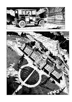 Chicago Typewriter #1 Page 1 inked