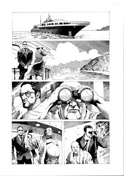 GunHoney #1 Page 1 inked