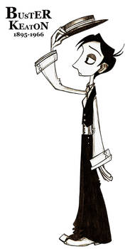 Buster Keaton by TheBalloonMan