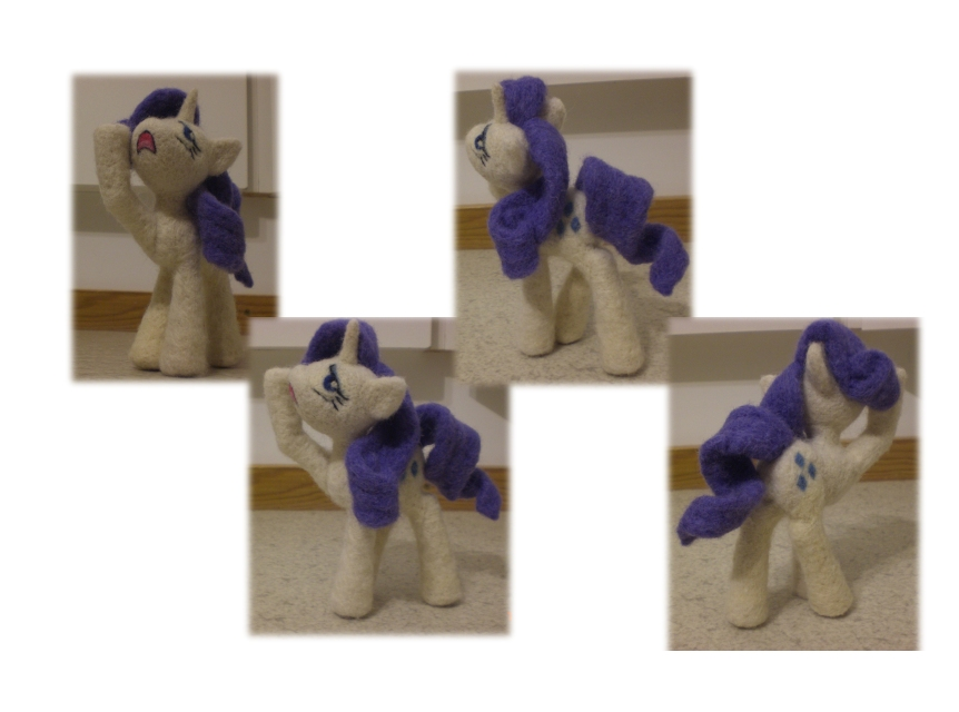 Rarity (Needle-felted) by Holcifio