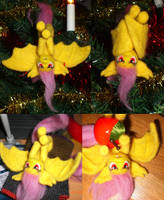 Flutterbat Needle felted by Holcifio