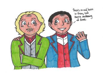 TtTE: Boco and Edward by MissAbigailWyatt