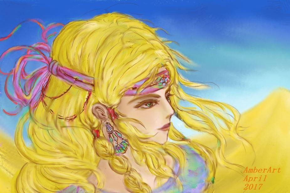 Princess of the desert by AmberArt212