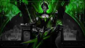 Camille Arcana Wallpaper 4k Green