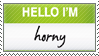 Horny Stamp by KingVenom