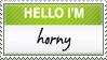 Horny Stamp by KingVenom
